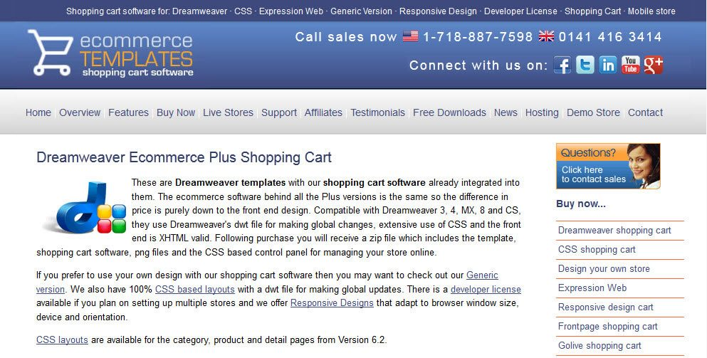 Dreamweaver shopping cart templates image collections for Dreamweaver shopping cart templates