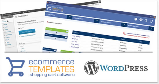 WordPress and Ecommerce Templates