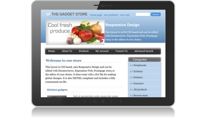 Online learning solutions responsive ecommerce templates for Godaddy ecommerce templates