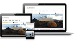 Responsive Design Outdoors Ecomm Plus